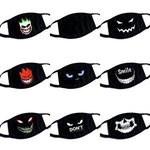 Evil Eyes Kafatasları Siyah Yüz Maskeleri mascarilla Yeniden kullanılabilir Moda Solunabilir Mascherine Yıkanabilir Toz Özel Çocuklar Lady 3 5bba C2 koruyun