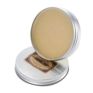 100g barbe rasard crème de mousse de luxe hommes rondes de chèvre de chèvre au lait barbes de cordonneur de rasage de rasage savon savon