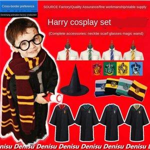 manto mágico terno Halloween anime Grande cosplaycostume Harry Potter Cloak roupas roupas mágica manto Halloween Harry Potter terno anime Gra