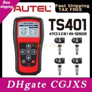Давление Autel MaxiTPMS Ts401 Obd2 TPMS диагностический сканер инструмент шин Система контроля Activate 315 433MHz датчика Программирование