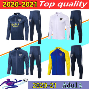 20 21 Boca Juniors Fußballjacke Trainings survêtement 20 21 DE ROSSI GAGO boca junior Fußballjacke Trainingsanzug Jogging-Set chandal