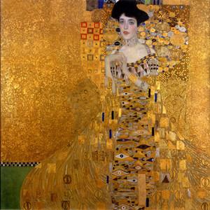 Traum-art-ölgemälde Gustav Klimt - weibliche Porträt von Adele Bloch-Bauer I Wanddekor Ölgemälde auf Leinwand Wandkunst 200826