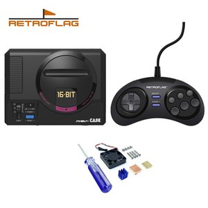 Cgjxsretroflag Megapi Case / Game Controller Funktionsknopf für Raspberry Pi 3 B Plus (3b) / 3b / 2b T191227