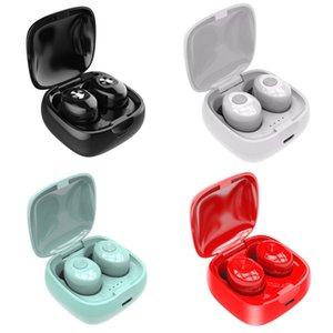 Двойной TWS Беспроводная связь Bluetooth 5.0 наушники XG12 стерео HIFI Звук Спортивные наушники Handsfree В Ear гарнитура с микрофоном для телефона