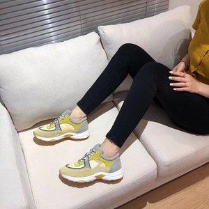 Chanel 2020 Top Fashion Shoes Homens Mulheres sapatos casuais sapatos casuais Vacuum sola de couro ac06 materiais