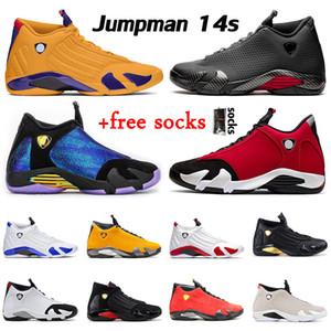 air jordan retro 14 aj jordans 14s jumpman XIV 2020 recién llegados Gym Red University Gold hombres zapatos de baloncesto Candy Cane zapatillas deportivas para hombre tamaño 13