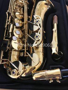 JUPITER JAS-769-II إب اللحن ألتو ساكسفون العلامة التجارية الجديدة E شقة آلات موسيقية نحاسية الذهب الطلاء ساكس مع القضية وملحقاتها