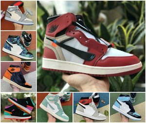 New Hoch: 1 OG GS X-Men-Basketball-Schuhe Günstige Obsidian ASG UNC purpurnen Farbton Fearless Turbo Grün Retroes 1s Chicago Frauen weiße Turnschuhe