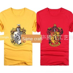 JyCBk T-shirt Potter performance school uniform short Harry Scarf cotton T-shirt sleeve cotton T-shirt RavenclawI no scarf tie