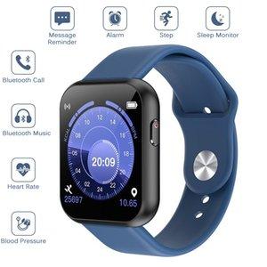 X6 Artı Bluetooth Çağrı Müzik Akıllı İzle 1.54 HD Dokunmatik Ekran Moda Spor Bilezik Saatler Nabız Akıllı Bant