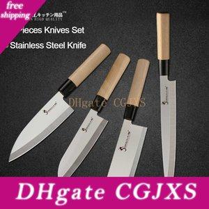 YKC caliente del cocinero del acero inoxidable del cuchillo de ultra agudo cuchilla rebanadora Sushi sashimi cuchillo de cocina de alta calidad cuchillos Set