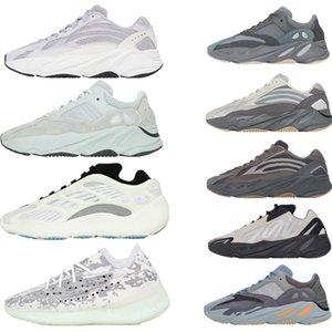 Nueva Kanye West V3 Azael Alvah Arzareth los zapatos corrientes 700 500 Negro imán estático Bone Oreo Asriel Zyon para hombre de las zapatillas de deporte con la caja de la Mujer Formadores