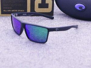 kadınlar lüks tasarımcı HD Bisiklet UV Koruma moda plaj sunglassesCase güneş gözlüğü mens polarize 9039 Costa Rafael güneş gözlüğü
