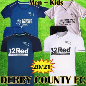 Thaïlande 2019 2020 maillot Derby County clubs football Derby maillots de football 32 maillots de football Rooney 19 20 maillots de football en tête des kits d'équipement