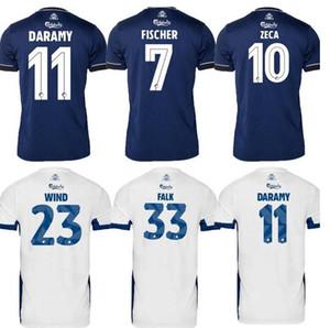 20 21 FC Kopenhagen Fußball Jersey Home Away Dritter 2020 2021 Camisetas Darkamy Fischer Zeca Wind Falk Football Hemden Top Thailand Qualität