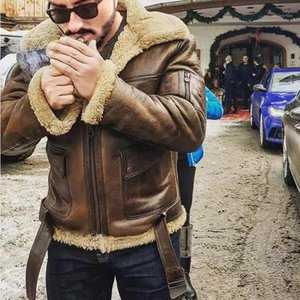 Designer Giacche Winter Fashion collare del basamento Fleece Jackets Street Style progettista del Mens Mens di cuoio cappotti Faux