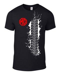 MG ZR TF شارة للجنسين تي شيرت هدية هدية عيد ميلاد القزم السيارات بارد عارضة الكبرياء T قميص الرجال للجنسين الأزياء الجديدة التي شيرت فضفاض