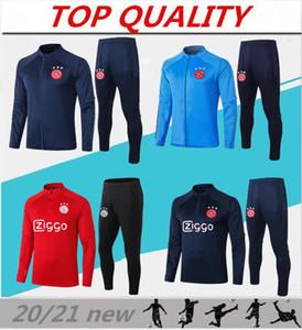 2020 2021 Ajax Futebol Treinamento Terno Casaco VoetBalshirt 20/21 Maillots de Futebol Neres Huntelaar Promes Jaquetas de Futebol Futebol