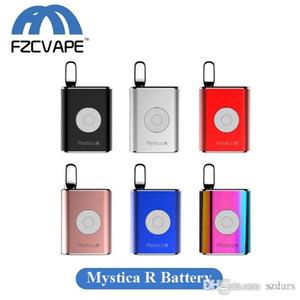 Authentic Airis Mystica R Battery 450mAh Variable Voltage Vape Box Mod bateria para 12 milímetros ou Abaixo Cartuchos Concentrado Grosso do petróleo