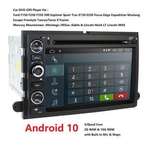 4G 2DIN Android DVD do carro para F150 Mustang expedição explorador fusão 2006 2007-2009 Quad Core radioGPS Navigation RDS