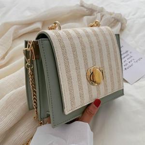 Microfiber Material Fashion Chain 2019 New Wild Messenger Bag Summer Ladies Bag Shoulder Handbag