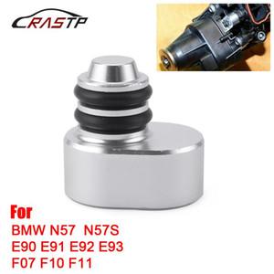 RASTP-Aluminum + Rubber Swirl Flap Plug Kits for N57 N57S E90 E91 E92 E93 F07 F10 F11 Car Accessories with Gaskets -002