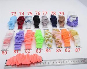 Piña de Scrunchie venda de reloj nuevo reloj banda para el cabello manzana banda de tela banda de dulces de colores de moda muñeca nueva llegada Impreso