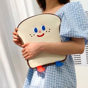Bentoy Milkjoy White Stock Girls Soft Mini Laptop Bag 11 10.5 10.2inch Travel Business Mac Case Kawaii Korea Women Cute Handbag