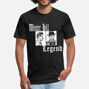 Winter Hill Legend Whitey Bulger t gömlek erkekler baskılı tişört Yuvarlak Yaka Resimleri Ünlü moda Bahar Desen gömlek