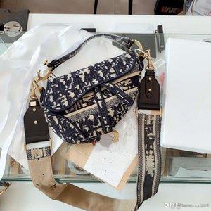 경사 매달려 가방 여성의 가방. 새로운 유행 자수 편지, 봉제 기술, 유행 절묘한 안장 가방 AR