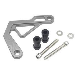 1 Set Gray Car Front Brake Caliper Cover Aluminum Alloy Caliper Assembly Set Protector Guard for ADV150 2019 2020