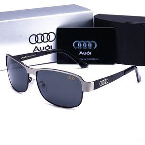 New Audi Audi sun sun men's polarized fashion driver's box sunglasses driving glasses fashion tZ4aj