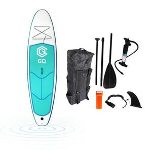 principiante soporte inflable Tarjeta de paleta juegos de deportes acuáticos de surf hinchable con Surfing Yoga paddle Junta infantil con bomba de mochila