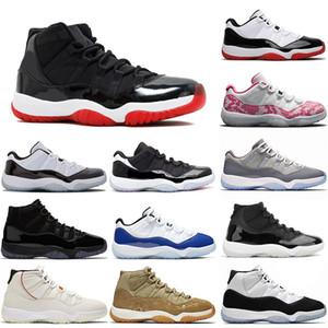 retro 11 11s bred Top Quality Retro Bred 11 11s JUMPMAN Baixa Concord Infrared Mulheres Mens Basketball Shoes 25o Platinum Matiz Formadores Sapatilhas