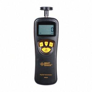 Digital Display Medição de Alta Precisão Laser tacômetro com Tipo de contato Shimar AR-925 Tachometer 6fCI #