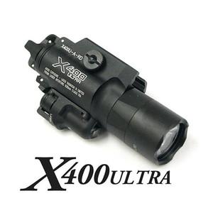SF X400 울트라 LED 권총 소총 총 빛 X400U 화이트 라이트 레드 레이저를 만들기 전술 CNC