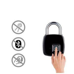 Usb Rechargeable Smart Keyless Fingerprint Lock Ip65 Waterproof Anti -Theft Security Padlock Door Luggage Case Lock