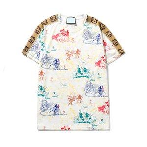 2020 hommes de luxe t-shirts hommes t-shirt casual de mode de marque T-shirts Medusa tees drôles