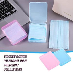 1 2 3pcs Mask Storage Box Mask Holder Portable Dustproof Moistureproof Children Student Box Available In Multiple Colors Y