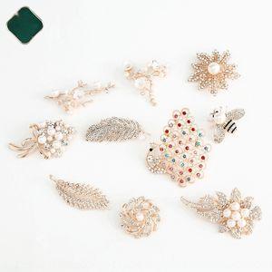 FglVc сливы цветок бабочки венок Peacock пчелы аксессуары одежды циркон контактный брошь камень broochaccessory камень брошь