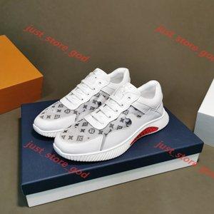 Louis Vuitton deporte de bajo precio cuero blanco zapatos de plataforma nuevo hasta Luxe Diseño Best alta calidad hombres de moda zapatos planos casual de la boda del partido