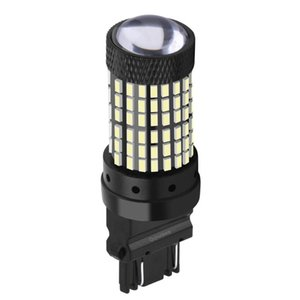 1PCS T25 3157 3156 P27 7W P27W Super Bright 144 SMD LED Car Brake Bulbs Auto Turn Signals Lamp Daytime Running Lights Red Yellow