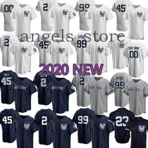 Mens Custom 2020 Andujar Yankees Gardner Chapman Hicks Rodriguez Richter Jeter Gregorius Ruth Mantle Frazier Williams Sabathia Stanton Rivera