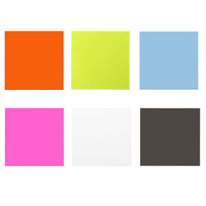 15 * 15 centímetros Folha de Plexiglass Board acrílico colorido DIY Toy Acessórios Modelo de Tomada de Fitness Equipamentos Acessórios