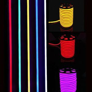 새로운 도착 LED 네온 사인 LED 플렉스 로프 빛 PVC LED는 실내 / 실외 플렉스 튜브 디스코 바, 펍 크리스마스 파티 장식 v9KE 번호를 스트립