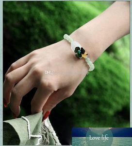 arbre vieux bracelet naturel tour de jade Dongling, Mme Dongling Yuqing bracelet en perles novice, bracelet en perles mode
