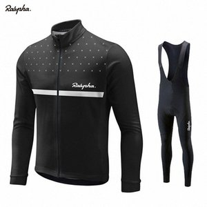 Ralvpha Maillot cyclisme 2019 Printemps / Automne Cyclisme Vêtements Ropa Ciclismo respirante Hommes Maillots PRO TEAM TRAINING JERSEY de la #