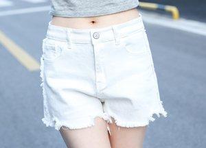 Inoltre più i vestiti delle donne di formato 200 kg di grasso dei vestiti di millimetro di estate sottile denim di lana Shorts hot pants hot pants 8708