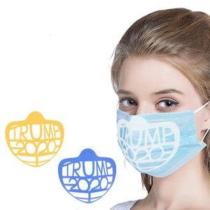 Trump 2020 Face Mask Bracket 3D Face Mask Inner Support Frame for More Breathing Space Mask Frame for Lipstick Protection CCA12564