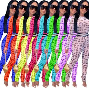 Конструктор сексуальных женщин Комбинезон Rompers Mesh Bodysuit Новый ночной клуб моды с длинным рукавом Печатный Тонкий Женщины Йога штаны леди Одежда DHL